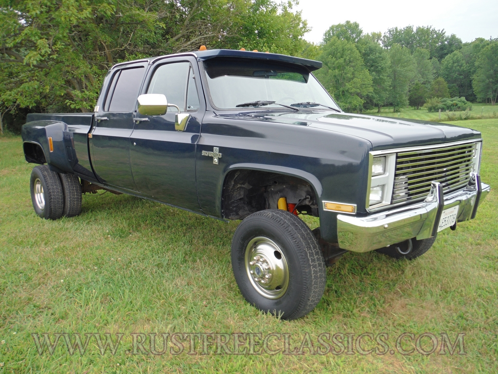 Pickup 86 chevy pickup : 1986 86 Chevrolet Chevy K30 1 one ton 4x4 Four Wheel Drive Crew ...